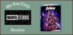 Avengers: Endgame Feature Image of Blu-Ray cover