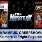 Survive the Holidays with KRAMPUS & CREEPSHOW Apparel Available at Fright-Rags