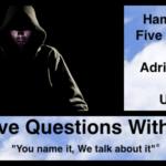 Hamish Downie's Five Questions with Adrian Storey aka Uchujin